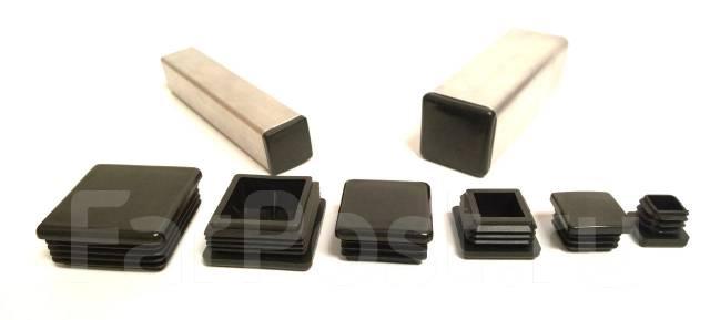 Заглушки пластиковые для профильных и круглых труб