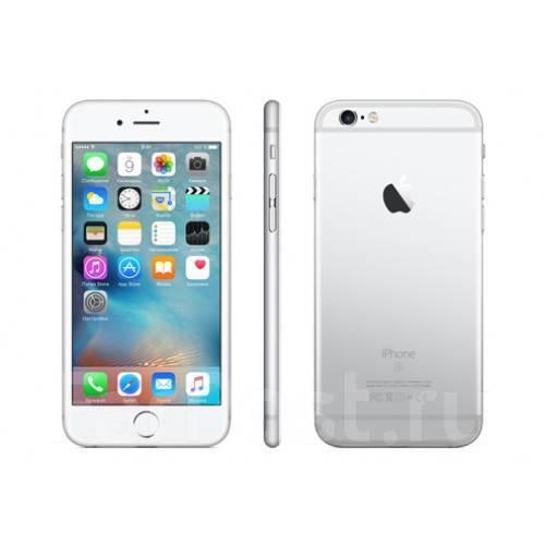 Apple iPhone 6s. Новый, 64 Гб, Серебристый