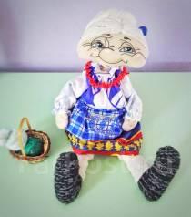 """Кукла ручной работы """"Бабушка"""""""