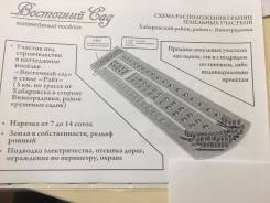 Продам земельный участок в с. Виноградовка. 700 кв.м., собственность, электричество, от агентства недвижимости (посредник)