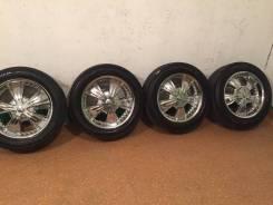 Продам комплект колес на 20 с летней резиной. 9.0x20 6x139.70 ET15 ЦО 108,0мм.