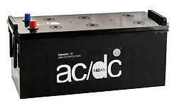 AC/DC. 140 А.ч., левое крепление, производство Европа