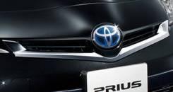 Молдинг решетки радиатора. Toyota Prius, ZVW30, ZVW30L Двигатель 2ZRFXE. Под заказ