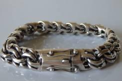Серебрянный браслет 100 грамм.