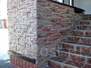 Фасадные работы. Искусственный облицовочный камень
