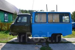 УАЗ 3303. УАЗ фургон, 2 500 куб. см., 1 000 кг.