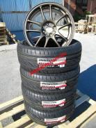Японские шины Bridgestone диски Work R16. 7.0x16 4x100.00 ET35 ЦО 60,0мм.