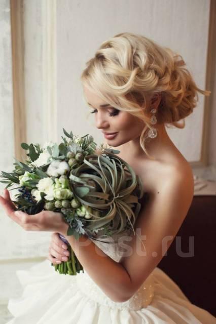 фото свадебные и вечерние прически