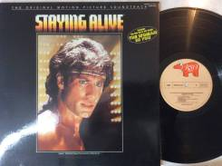 БИ ДЖИЗ / BEE GEES - Staying Alive - OST 1977 JP LP ВСЕ ХИТЫ ТУТ