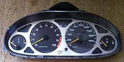 Консоль центральная. Honda Integra, DB6, DB8, DC1, DC2