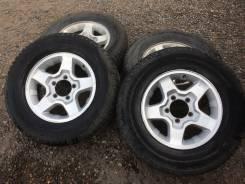 Комплект колес на Эскудо / Ниву / Самурай Suzuki Escudo. 5.5x16 5x139.70 ET22 ЦО 108,0мм.