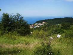 8 соток с видом на море. 800 кв.м., собственность, электричество, вода, от агентства недвижимости (посредник)