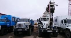 Урал 5557. АвтоКран КС-55733 шасси УРАЛ-5557-82М - 2010 г. в., 11 500 куб. см., 32 000 кг., 25 м.