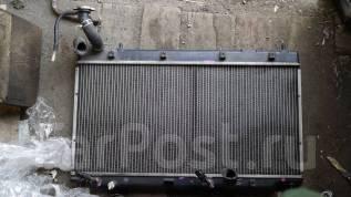 Радиатор охлаждения двигателя. Honda Fit, GD2