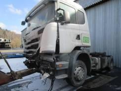 Scania G. 400, 2013 г. в., белый, синий 4*2 седельный тягач, 12 742 куб. см., 18 000 кг.