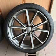 Оригинальные колёса Audi A4 A5+Dunlop 255/35 R19. 9.0x19 5x112.00 ET32 ЦО 66,6мм.