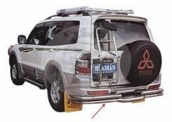 Защита бампера. Mitsubishi Pajero, V73W, V75W, V77W