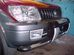 Защита бампера. Toyota Land Cruiser Prado, RZJ95W, KZJ90W, RZJ90W, KZJ95W, VZJ95W, VZJ90W, KDJ95W, KDJ90W