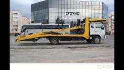 Yuejin. Продаётся автовоз-эвакуатор, 4 087 куб. см., 3 500 кг.