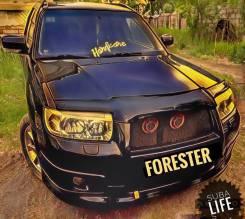 Накладка на бампер. Subaru Forester, SG9L, SG69, SG6, SG5, SG9, SG