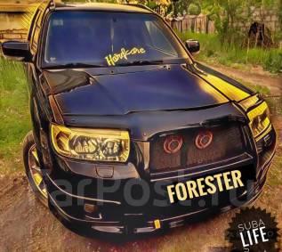 Накладка на бампер. Subaru Forester, SG9, SG9L, SG5, SG6, SG69, SG
