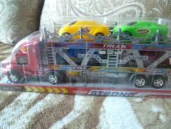 Игрушка автовоз с машинками
