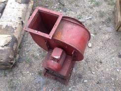 Промышленный вентилятор, радиатор
