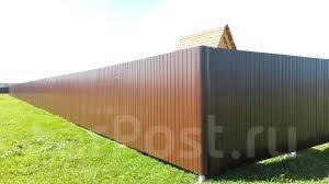 Заборы, ворота , калитки от 500 р п/м.