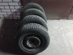 Продам зимние шипованные шины с дисками тойота. x15