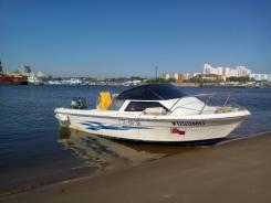 Аренда катера активный отдых на воде. 5 человек, 55км/ч