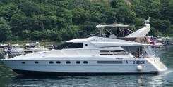 Аренда быстроходного фешенебельного катера 64 фута, роскошной яхты!. 17 человек, 50км/ч