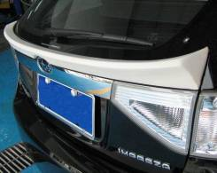 Спойлер на заднее стекло. Subaru Impreza WRX, GH
