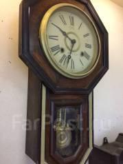Часы старинные настенные Япония. Оригинал