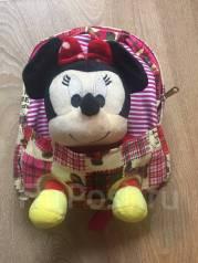 Детский рюкзачок с Минни Маус розовый