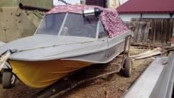 Казанка-5М. длина 5,00м., двигатель стационарный, 85,00л.с., дизель