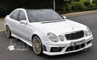 Порог пластиковый. Mercedes-Benz E-Class, W211. Под заказ