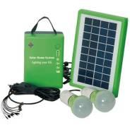 Комплект для освещения на солнечных батареях