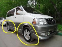 Toyota. x17, 4x139.70, ET25, ЦО 110,0мм.