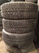 Bridgestone Ice Cruiser 5000. Зимние, шипованные, износ: 40%, 3 шт