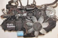 Двигатель в сборе. Subaru Leone Двигатель EA82