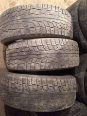 Michelin X-Ice North. Зимние, шипованные, износ: 70%, 3 шт