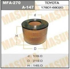 Фильтр воздушный A-147 Just Drive JDA147 1780166020,1780168020,1780161030
