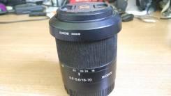 Объектив Sony DT 18-70mm F3.5-5.6 SAM. Для SONY A, диаметр фильтра 55 мм