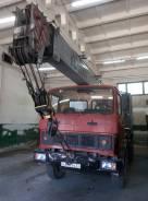 МАЗ 5337. Автокран, 11 150 куб. см., 14 000 кг., 14 м.