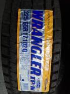 Goodyear Wrangler IP/N. Зимние, без шипов, 2013 год, без износа, 2 шт
