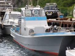 Yamaha. Год: 1998 год, длина 12,00м., двигатель стационарный, 140,00л.с., дизель