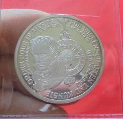 Германия 10 Марок 1992 (D) 150 Лет Ордену Пол Ле Мерит (Серебро)