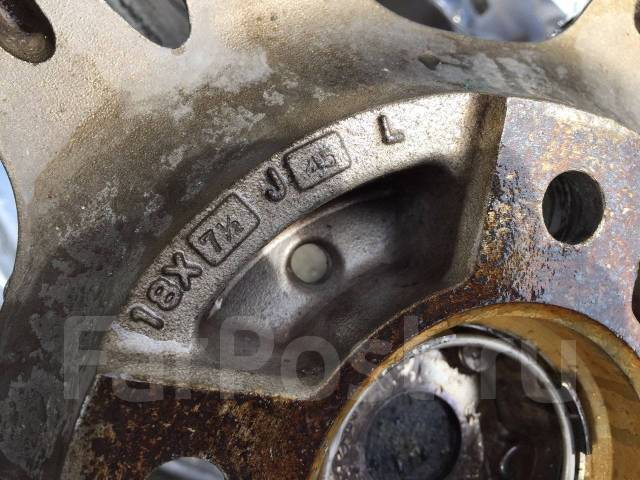 """RS Wheels. 7.5x18"""", 4x114.30, ET45"""