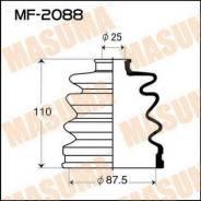 Пыльник привода наружний MASUMA MF2088