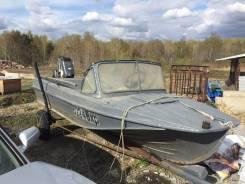 Казанка-5М. Год: 1980 год, двигатель подвесной, 40,00л.с., бензин